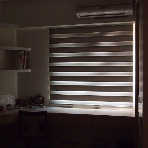 遮光窗簾 調光窗簾 調光捲簾 blackout double roller blinds