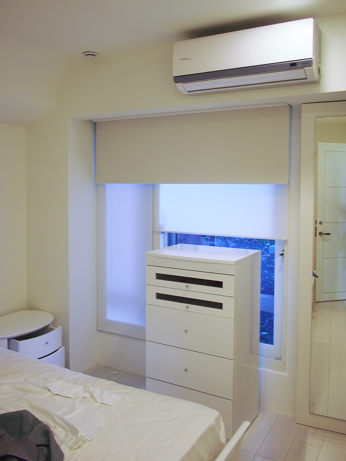 [案例] 學習北歐,就是要清爽淨白-雙層窗簾.捲簾