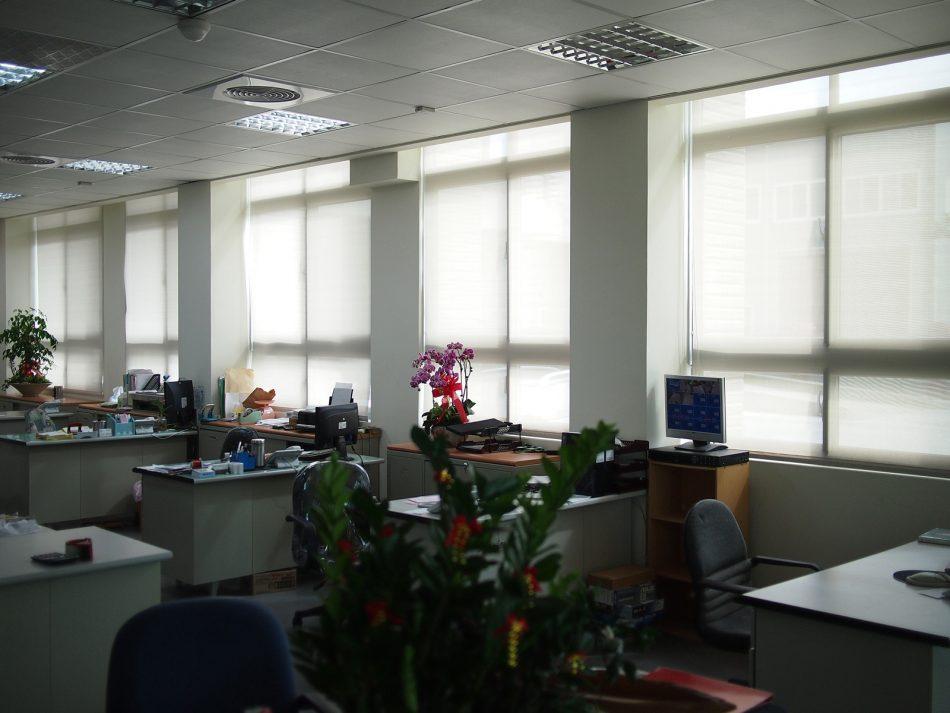 辦公室窗簾 採光窗簾 遮陽窗簾