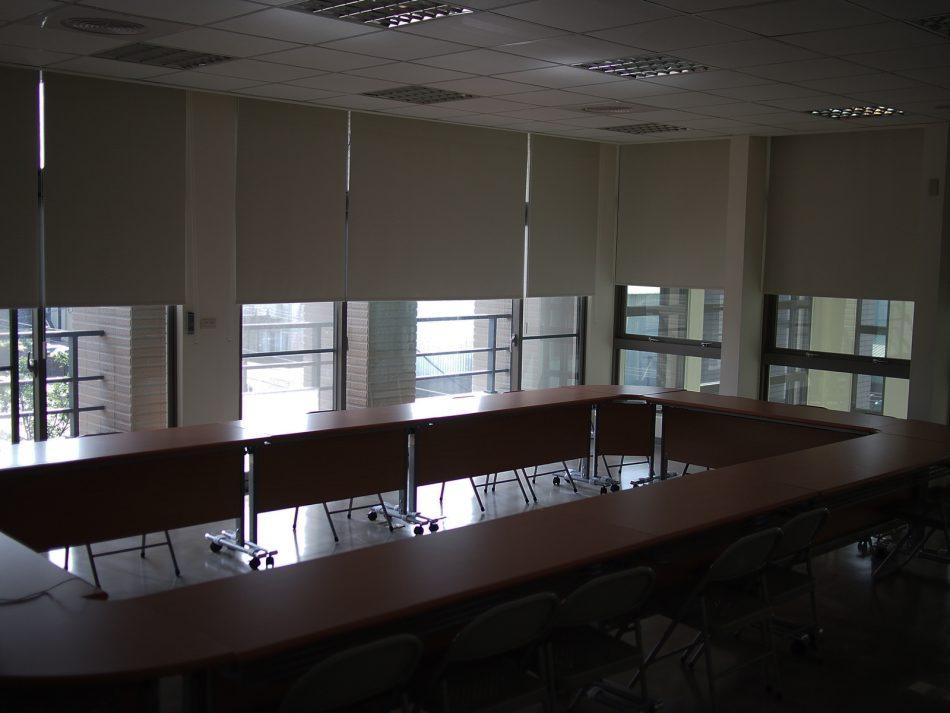 會議室窗簾 遮光窗簾 隔熱窗簾 電動窗簾