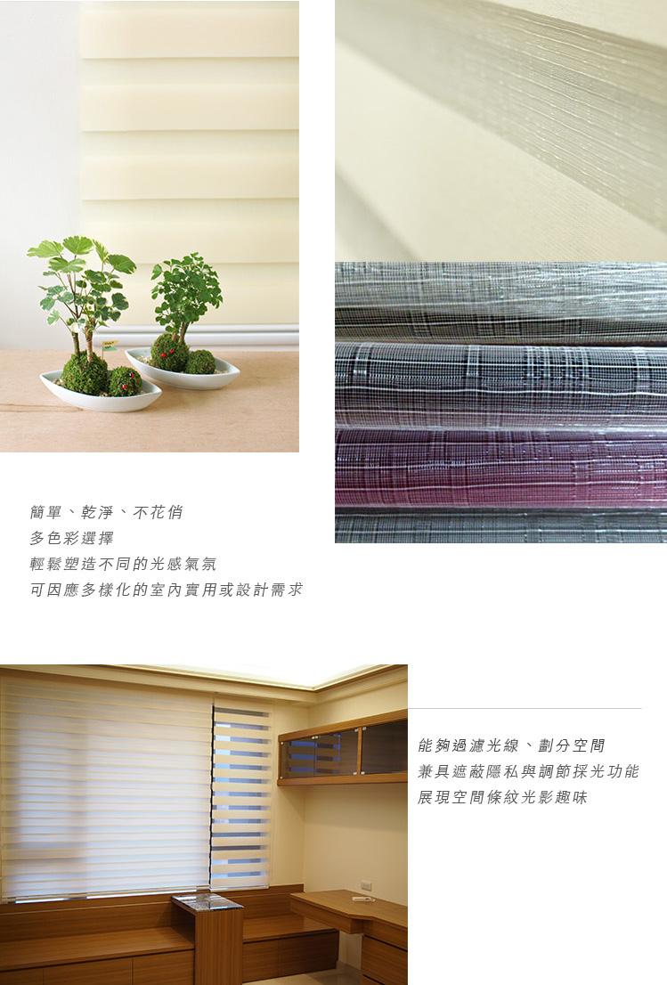 Seda2  - [商品資訊] Seda細織斑馬簾 素面.金屬光澤 多色可選 寬250cm以內 × 高300cm以內可指定