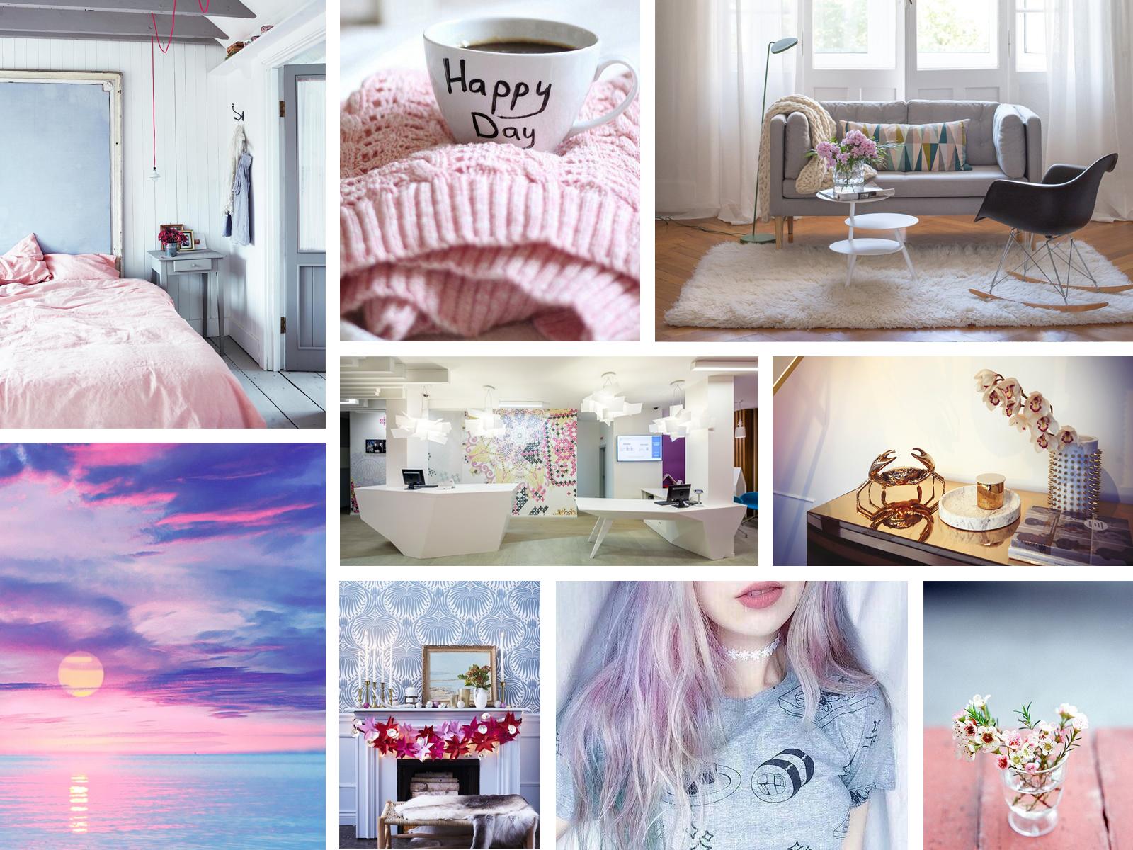 年度代表色 Pantone Color 2016 RoseQuartz Serenity