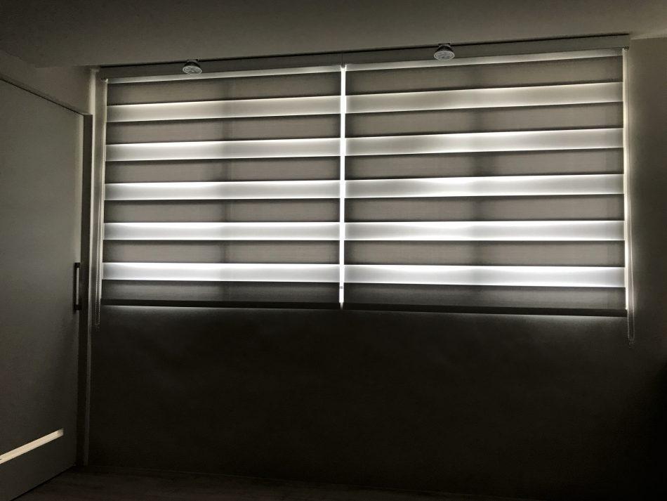 17072604b 950x713 - [案例] 要遮光,但不想變得太陰暗-斑馬簾.捲簾
