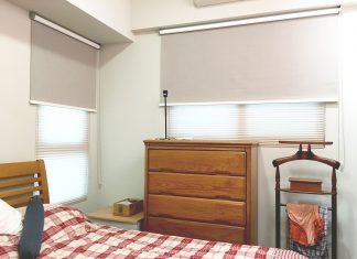雙層窗簾 臥室窗簾 Blinds Shades Bedroom