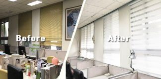 [案例] 一白遮三醜,老屋再舊也能用窗簾白回來!  — 調光斑馬簾