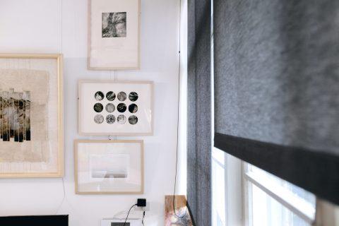 老屋改造, 改造, 布織百葉簾, 工作室