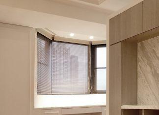 凸窗窗簾 八角窗窗簾 Bay Window Curtain Blinds