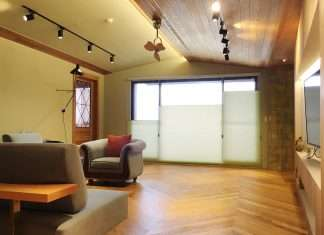 蜂巢簾 風琴簾 客廳窗簾 Honeycomb Shades Living Room