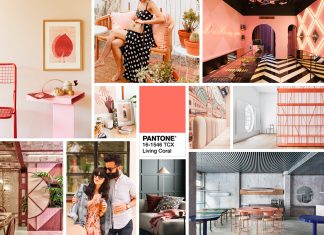 年度代表色 Pantone Color 2019 Living Coral