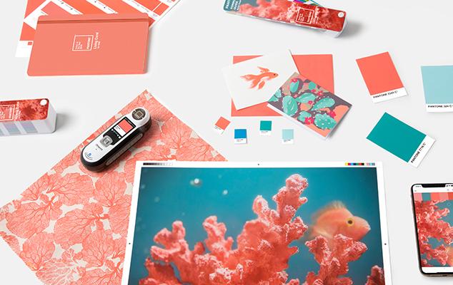 2018 Living Coral2 - [分享] 2019年流行主色:Pantone 16-1546 活珊瑚橘 Living Coral