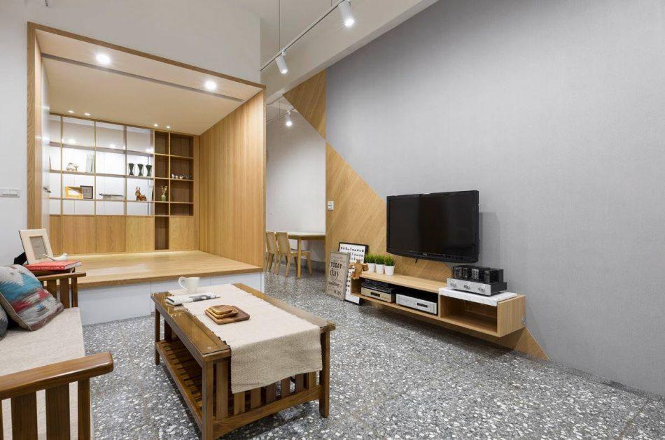 16112501c 950x629 - [案例] 老屋改造!用捲簾隔出舒適的和室