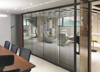 木百葉簾 辦公室窗簾 隔間窗簾 Venetian Blinds Office