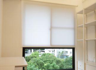 [案例] 簡約明亮的白色舒適宅 -素色捲簾