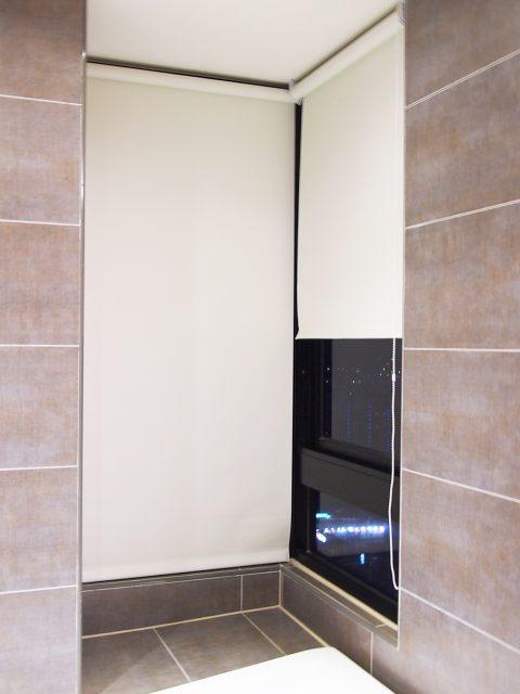 浴室窗簾 防水窗簾 防水捲簾