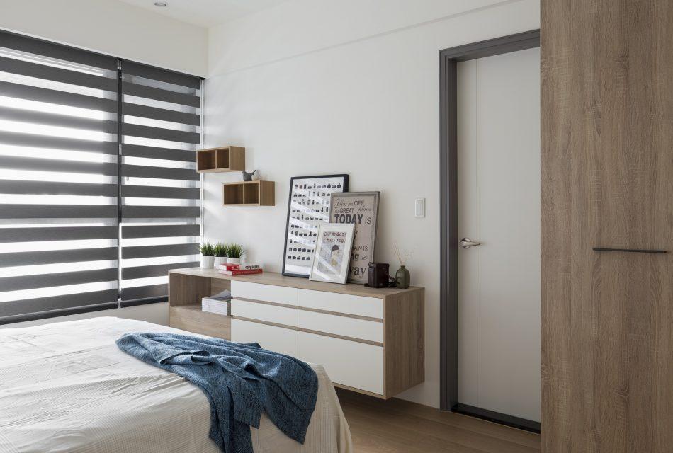 居家風格 北歐風 空間設計 空間佈置 租屋族 斑馬簾 遮光斑馬簾