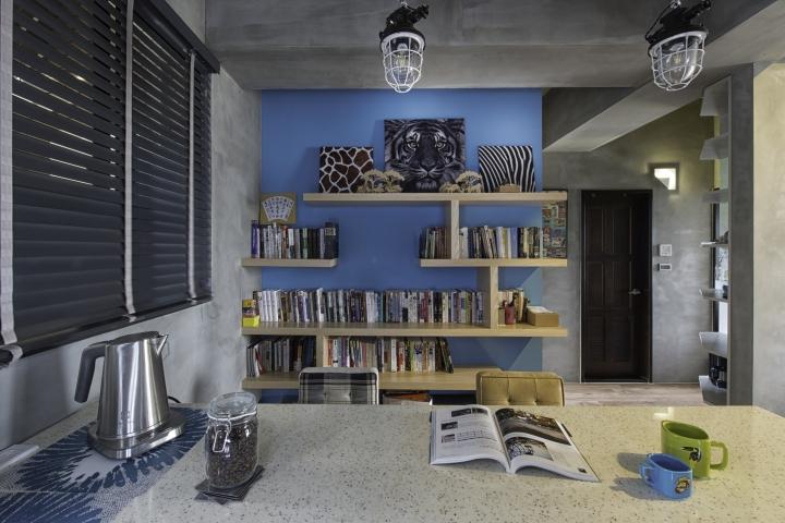 居家風格 工業風 空間設計 空間佈置 租屋族 百葉簾 木百葉 實木百葉簾