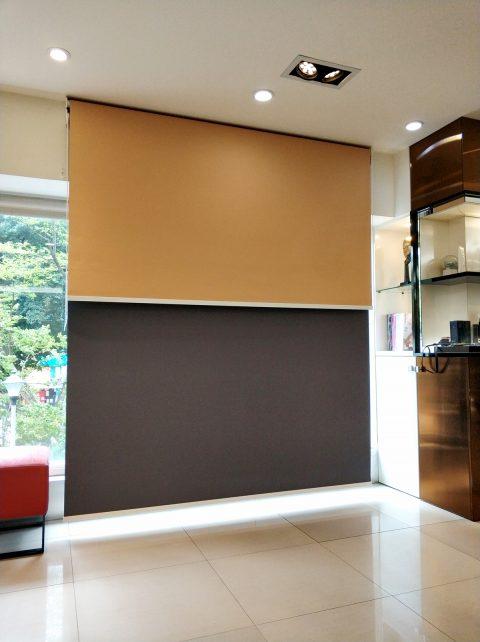 遮光捲簾 素色捲簾 攝影棚 拍照背板