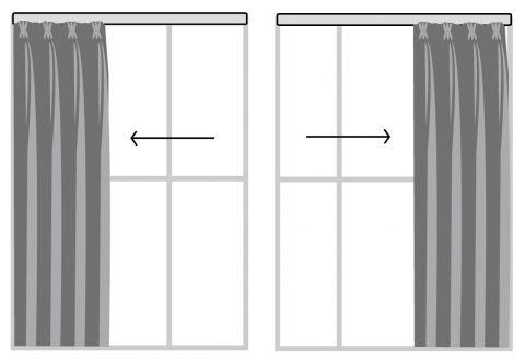 單開布簾 窗簾訂製 窗簾型式 curtain design