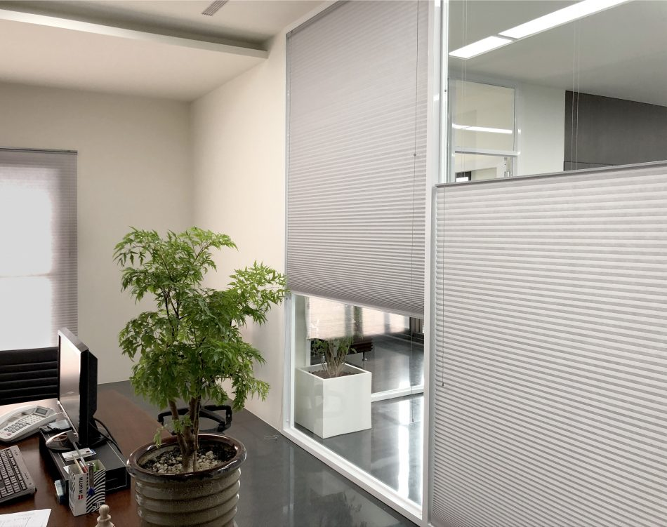 辦公室窗簾 調光窗簾 隔熱窗簾 電動窗簾
