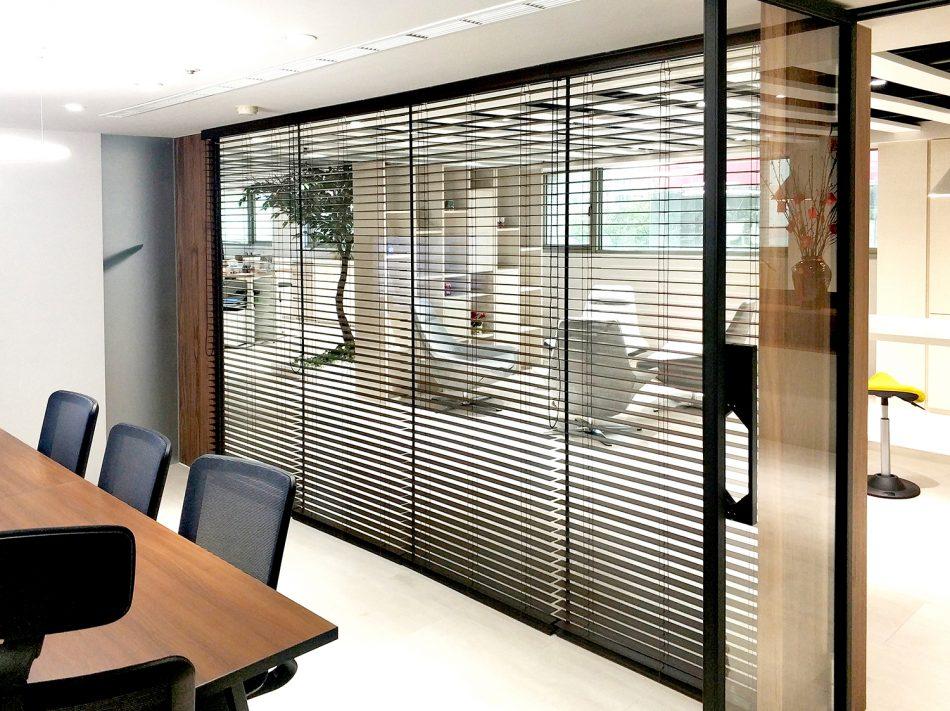 會議室窗簾 通風窗簾 遮光窗簾 電動窗簾