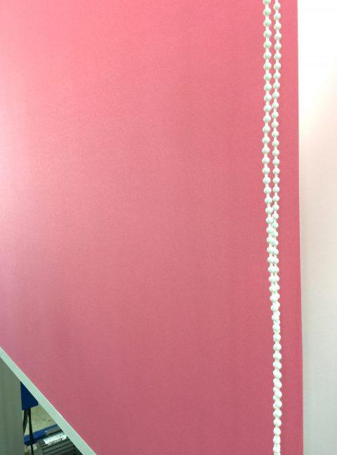 粉紅色 捲簾 調光捲簾