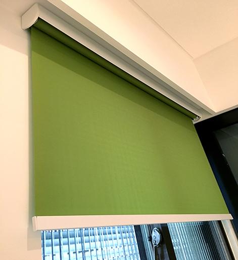 綠色 捲簾 調光捲簾