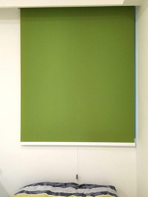 綠色 捲簾 遮光捲簾 隔熱捲簾