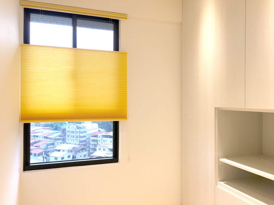 蜂巢簾 風琴簾 透光窗簾 臥室窗簾