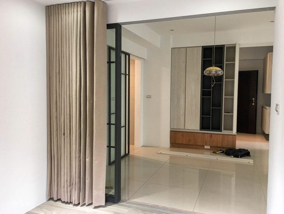 客廳窗簾 訂製布簾 隔間簾 遮光布簾 大尺寸窗簾