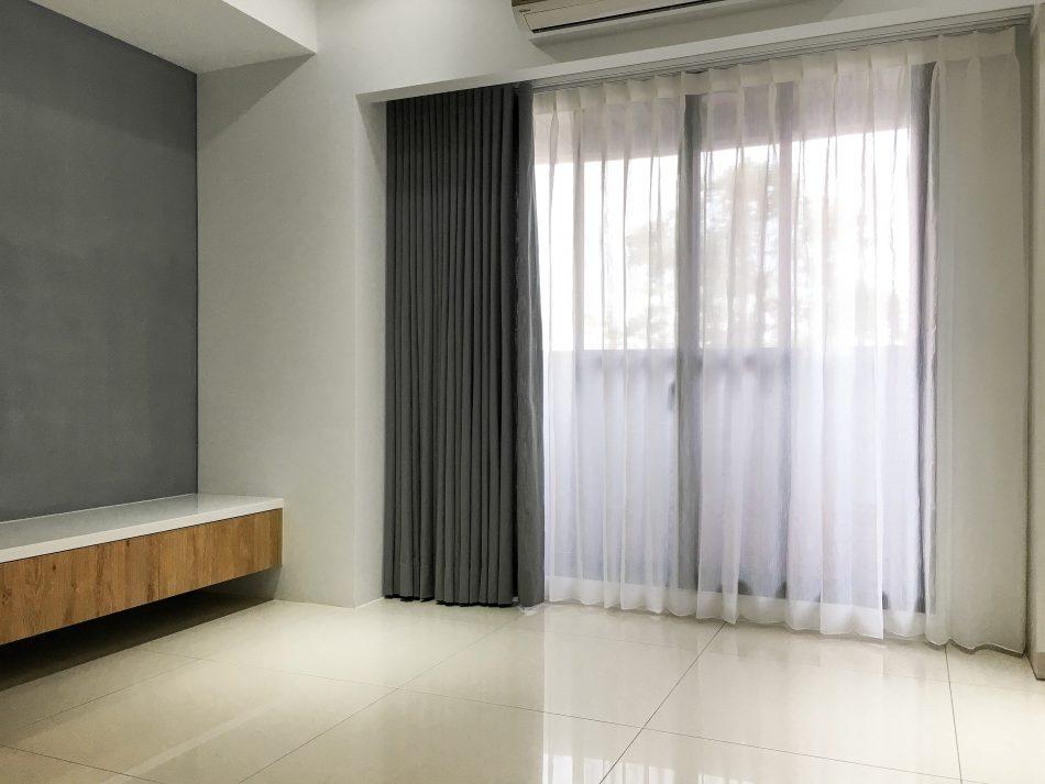 客廳窗簾 落地窗窗簾 紗簾 訂製布簾 遮光布簾
