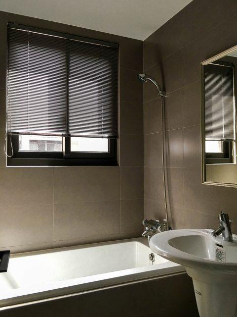 浴室窗簾 防水窗簾 鋁百葉 百葉簾 防潑水窗簾