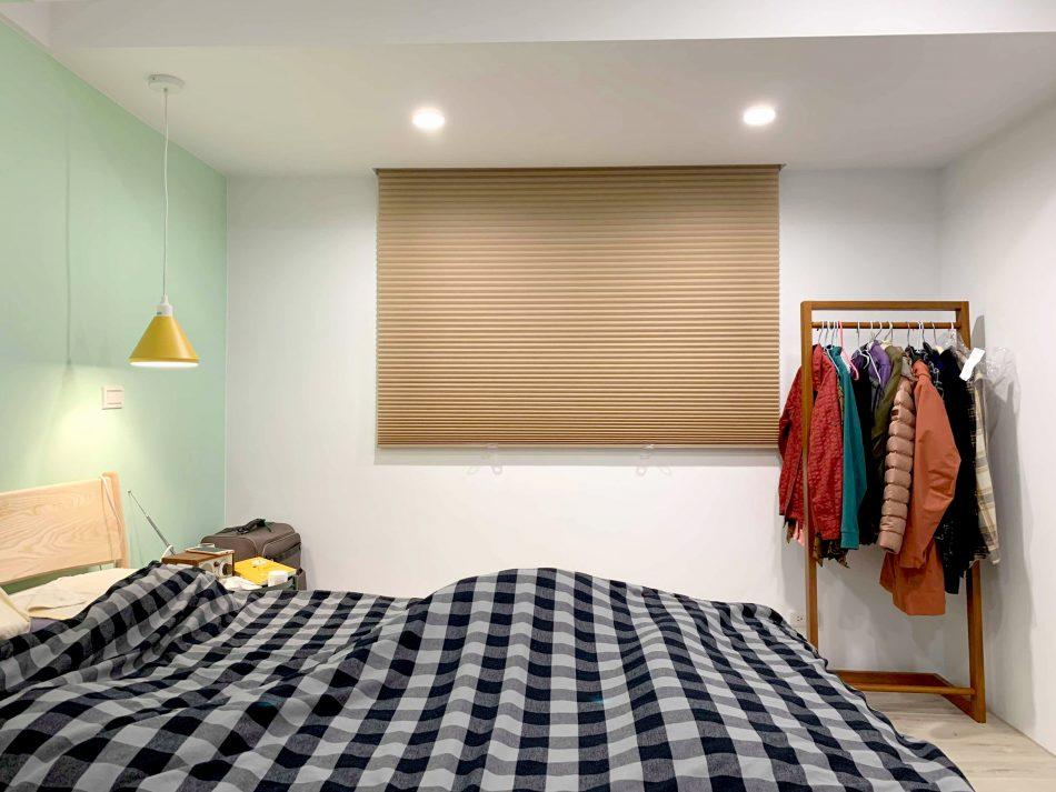 臥室窗簾 遮光蜂巢簾 風琴簾 Blackout Honeycomb Shades bedroom