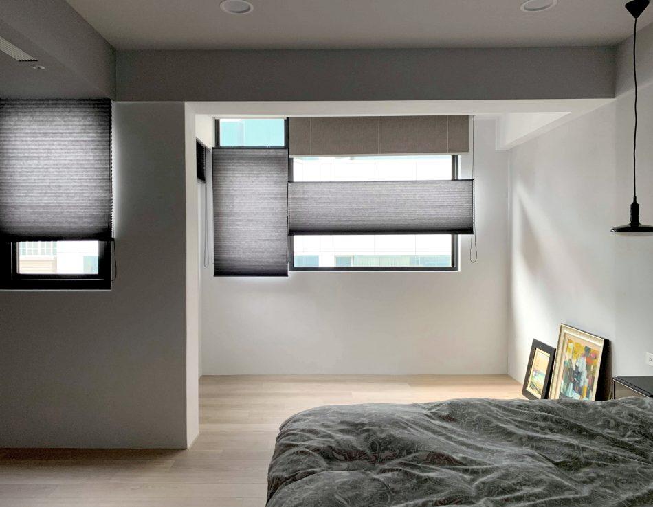 上下開窗簾 蜂巢簾 風琴簾 遮光捲簾 雙層窗簾 臥室窗簾 TDBU Honeycomb Shades Blackout Roller Blinds Double-Layer Bedroom
