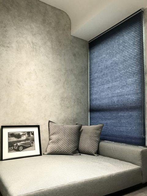 蜂巢簾 輕工業風 客廳窗簾 窗簾推薦 採光窗簾