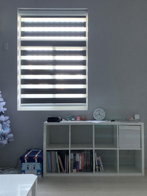 電動窗簾 無拉繩窗簾 調光捲簾 窗簾盒 臥室窗簾