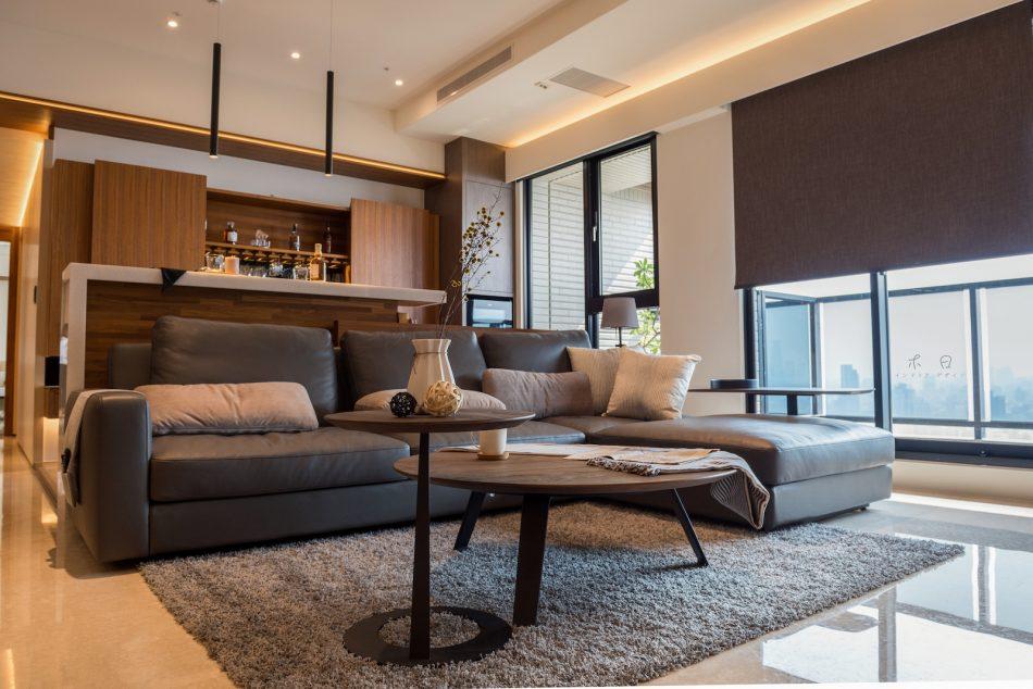 客廳設計 窗簾推薦 客廳窗簾 遮光窗簾 捲簾 Blackout RollerBlinds Livingroom