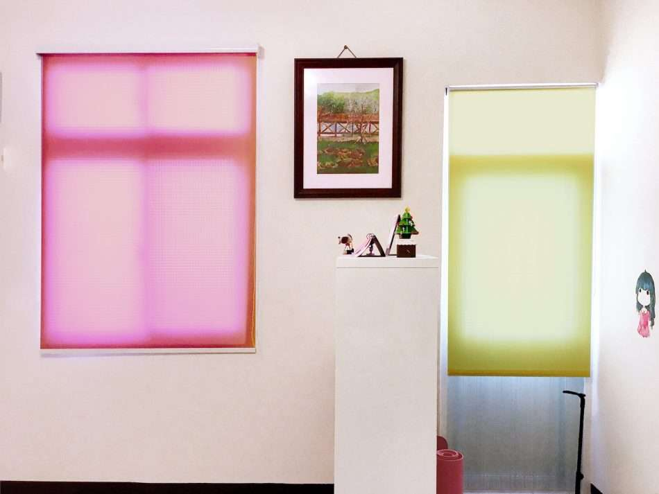 客廳窗簾 居家設計 窗簾推薦 捲簾 客廳設計 RollerBlinds Livingroom