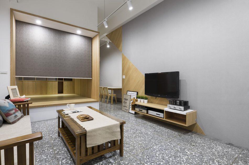 隔間簾 捲簾 客廳設計 客廳窗簾 居家設計 RollerBlinds Livingroom