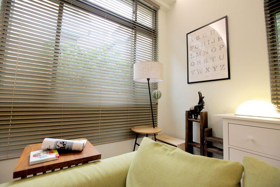 木百葉 百葉簾 客廳窗簾 客廳設計 窗簾設計