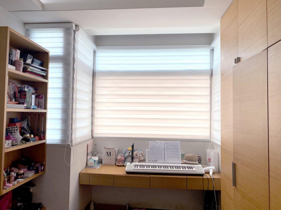 調光捲簾 防塵設計 居家清潔 窗簾清潔 防塵蟎