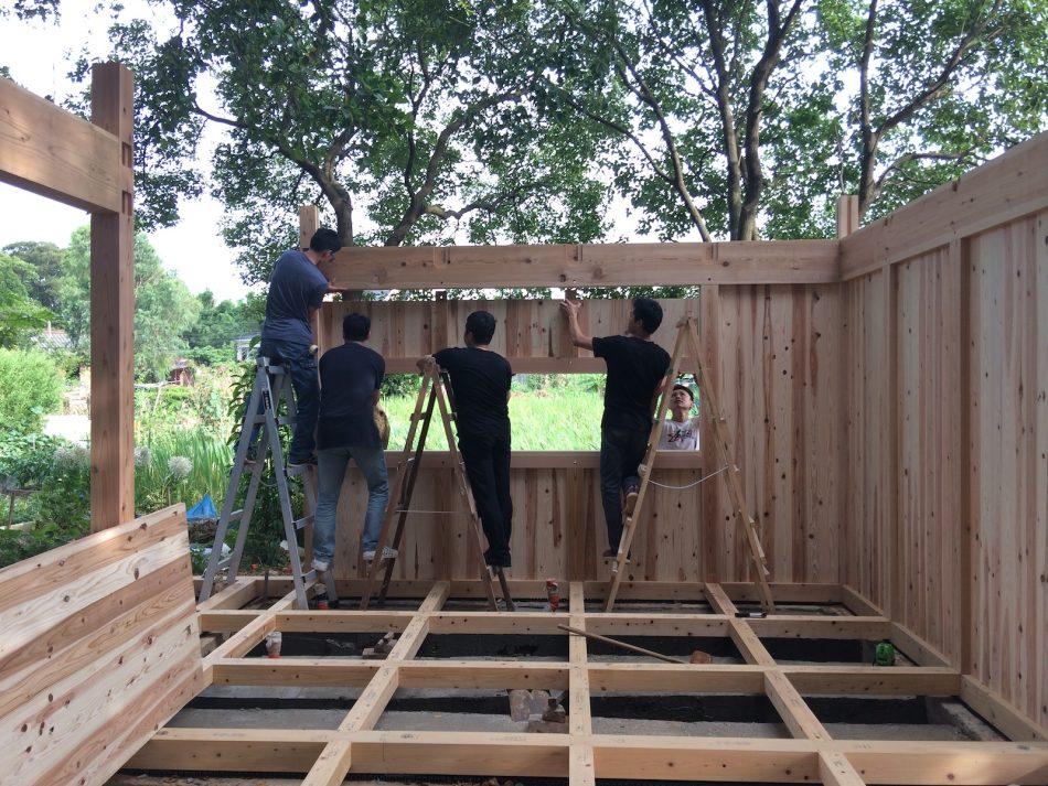 治離線生活的容器 House1/2 木屋 構築設計 治器 土佐杉 土佐檜 度假小屋