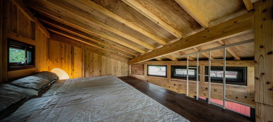 治離線生活的容器 House1/2 木屋 構築設計 治器 臥室設計 閣樓設計