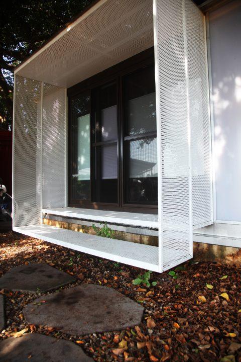 落地窗 木屋 風琴簾 森林系 構築設計 室內設計