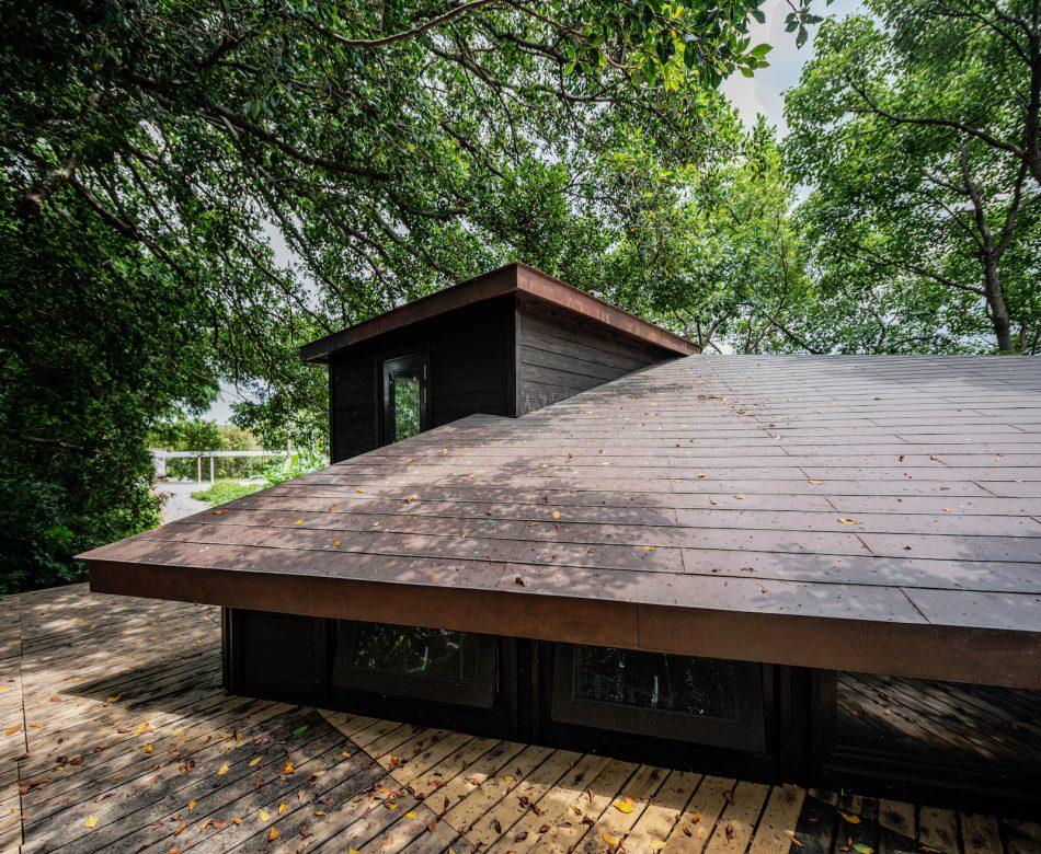 治離線生活的容器 House1/2 木屋 構築設計 治器 紅銅瓦
