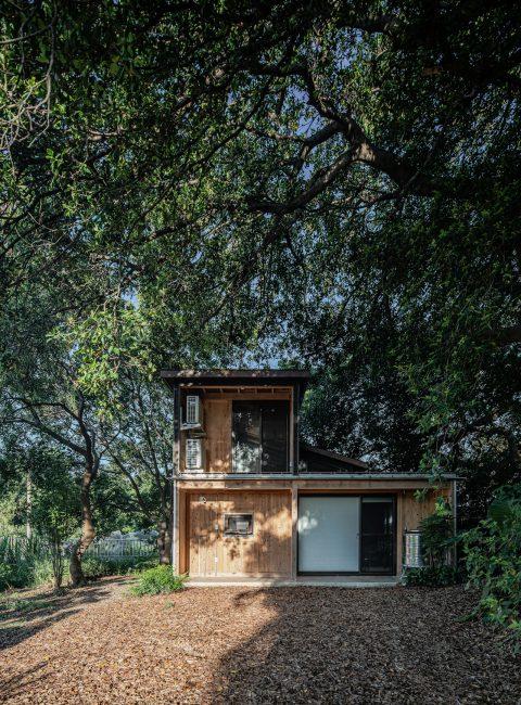治離線生活的容器 House1/2 木屋 構築設計 治器 森林木屋