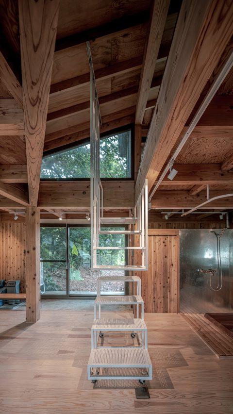 治離線生活的容器 House1/2 木屋 構築設計 治器 開放式設計