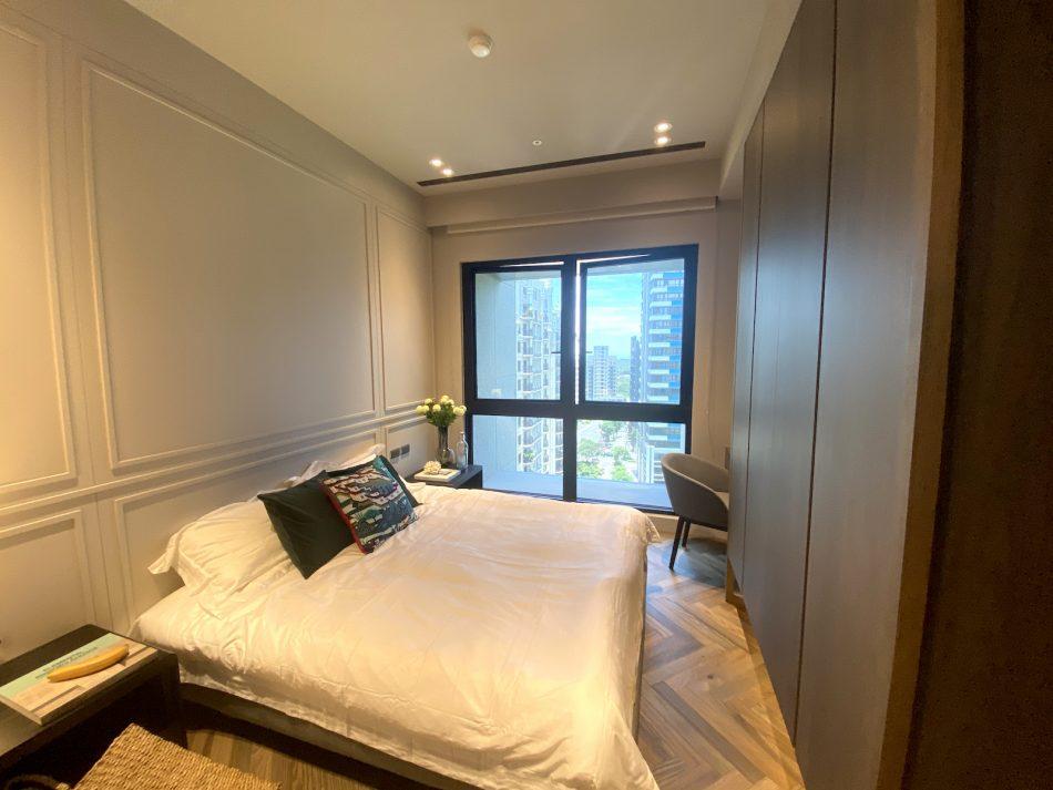 臥室設計 臥室窗簾 蜂巢簾 透光窗簾 室內設計