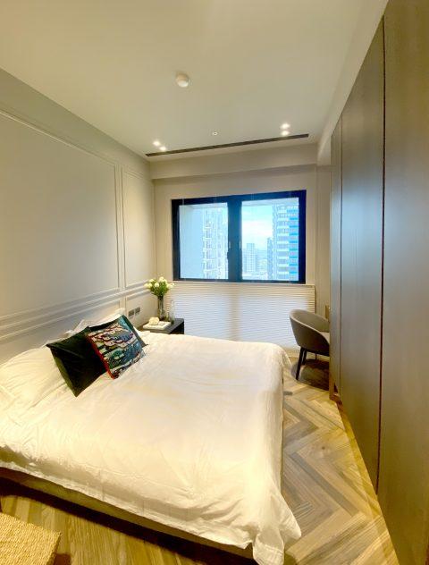 臥室設計 臥室窗簾 蜂巢簾 透光窗簾 TDBU