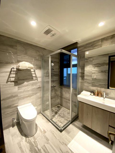 防水窗簾 浴室窗簾 浴室設計 鋁百葉