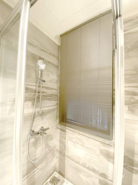 現代風 浴室窗簾 浴室設計 鋁百葉 防水窗簾